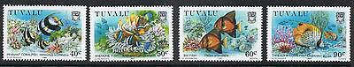 STAMPS   TUVALU  1989 CORAL REEFS   FISH  (MNH)   lot 943a