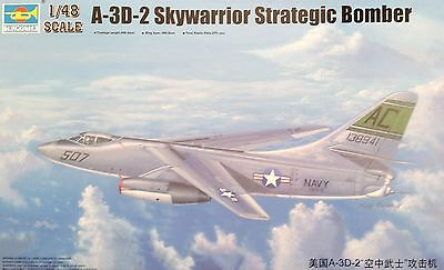 TRUMPETER® 02868  A-3D-2 Skywarrior Strategic Bomber in 1:48
