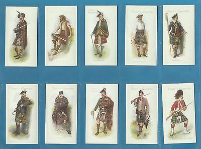 Players cigarette cards - HIGHLAND CLANS - Full mint condition set