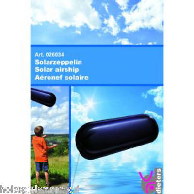 Dieters 26034 Solarzeppelin physikalisches Experiment NEU!      #