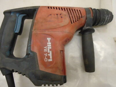 Hilti Te 7-C 120V Rotary Hammer Drill 228061 With Case