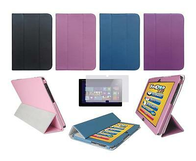 Folio Skin Cover Case and Screen Protector for Lenovo IdeaTab Lynx K3011 Tablet