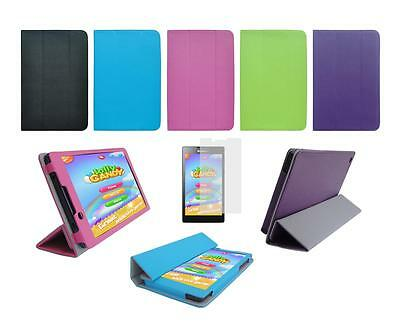 """Folio Skin Cover Case and Screen Protector for Lenovo Tab 2 A7-30 7"""" Tablet"""