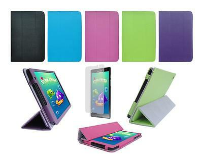 Folio Skin Cover Case and Screen Protector for Lenovo Tab S8-50 Tablet