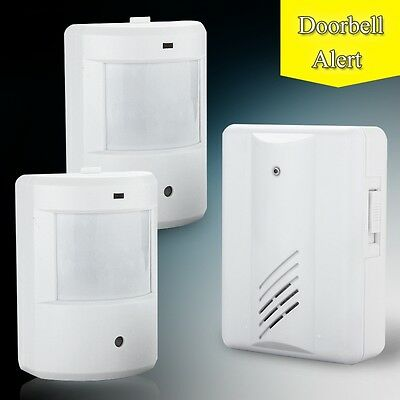 New Driveway Patrol Infrared Wireless Alert System Motion Sensor Alarm Security