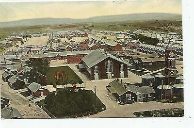 irish postcard ireland kildare curragh military camp