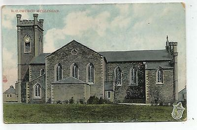 irish postcard ireland westmeath mullingar rc church