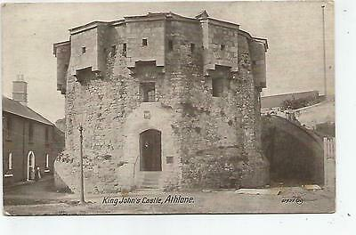 irish postcard ireland westmeath athlone castle