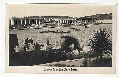 wales welsh postcard united kingdom marine lake barry