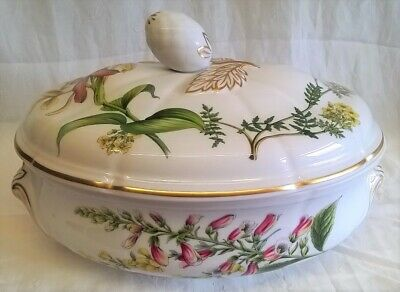 SPODE STAFFORD FLOWERS OVEN TO TABLE 4pt OVAL CASSEROLE
