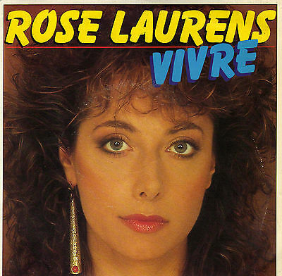 Rose Laurens Vivre / Zodiacale French 45 Single