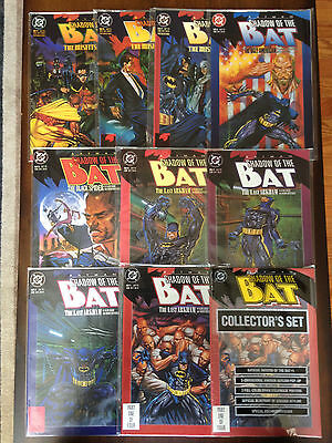 BATMAN SHADOW OF THE BAT COMIC LOT #1-27 + ANNUAL + COLLECTOR'S SET