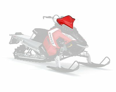 OEM Red Axys Deep Mid Windshield 2015 2016 Rush Switchback Snowmobile