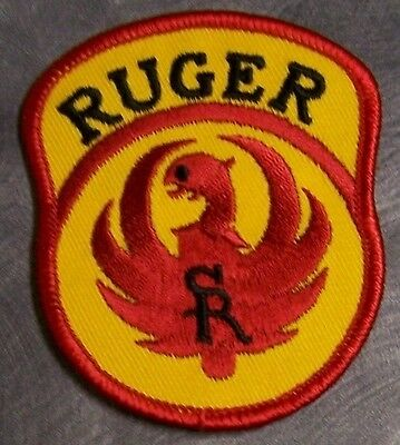 Embroidered Weapons Patch Sturm Ruger NEW