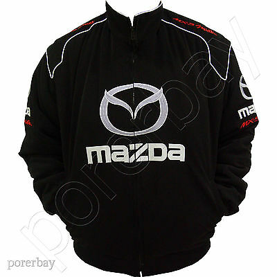 Mazda Mx5 Miata Motor Sport Team Racing Jacket #jkmd06