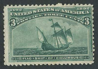 USA 1893 SG.237 3 cents Mounted Mint