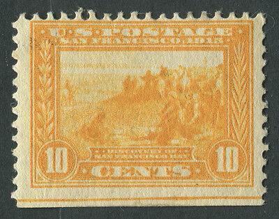 USA 1913 SG.426 10 cents Yellow Mounted Mint