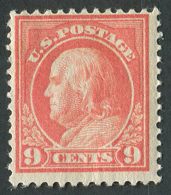 USA 1914 SG.410 9 cents Mounted Mint