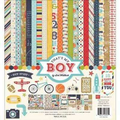 New Echo Park That's My Boy 12X12 Collection Kit
