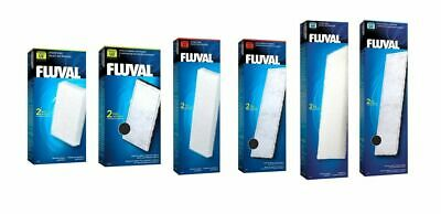 Fluval U2 U3 U4 Internal Filter Media Replacement Foam Pad Poly Carbon Fish Tank