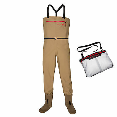 Redington Sonic-Pro Ultra Packable Chest Waders  Fly Fishing ALL Sizes S,M,L,XL