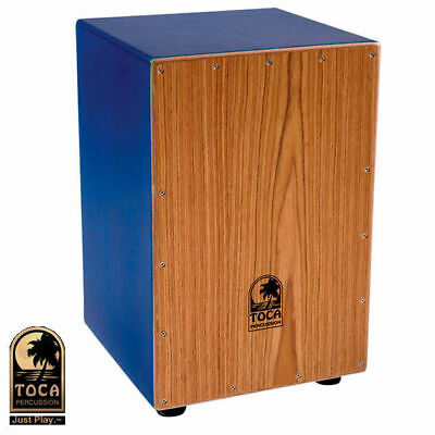 Toca Coloursound Blue Cajon Drum