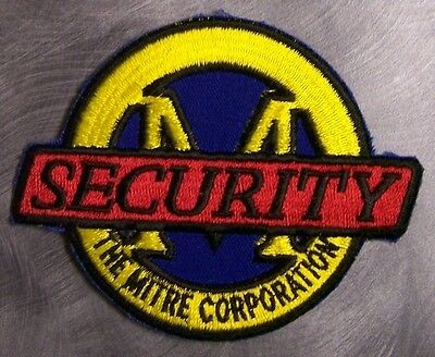 Embroidered Police Patch Mitre Security NEW