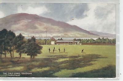 irish postcard ireland louth greenore golf links sport