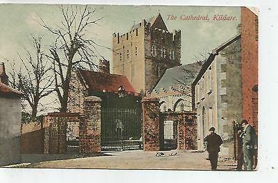 irish postcard ireland kildare cathredal