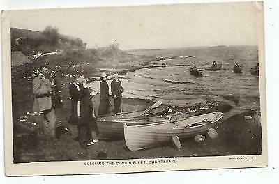irish postcard ireland galway blessing the corrib fleet at oughterard