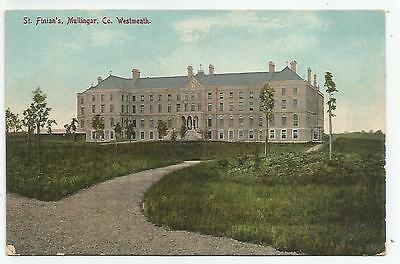 irish postcard ireland westmeath mullingar college