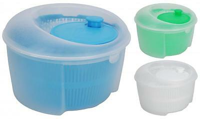 Plastic 24cm Salad Spinner for Drying Lettuce Kitchen Cooking Picnic