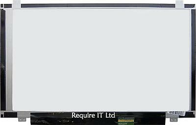 "New Boe Hb140Wx1-300 V4.0 For Hp 14-R206Nv Display Screen 14.0"" Hd Led Glossy"