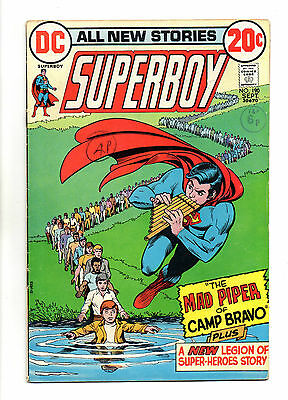 Superboy  Vol 1 No 190 Sep 1972 (VFN-) inc: Legion of Super-Heroes Story