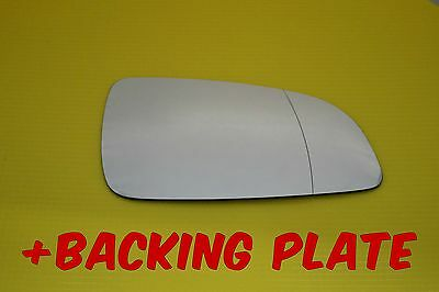 Vauxhall Astra H Sxi 2004-09  Door Wing Mirror Glass + Backing Plate Right