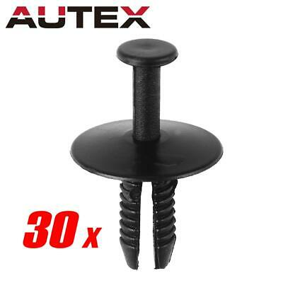 25 Bumper Cover Clip Push Type Retainer Fastener A21249 For Toyota 904670707122