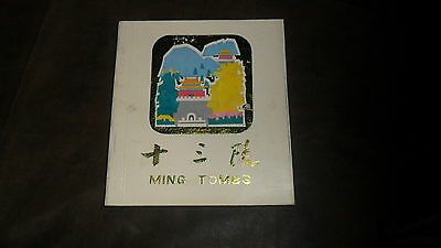 Ming Tombs - China Tourist Photo Book - Small Book 4  X 3 1/2 - Neat Pictures
