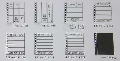 Grande 5S 6S 7S 8S stock sheet stamp album pages Lighthouse