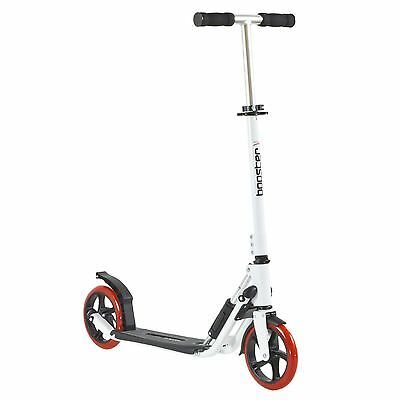 bopster® Sport Pro™ Urban Adult Rapid Folding Town Commuter Scooter - White