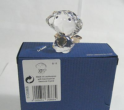 Swarovski Christmas Angel with Golden Heart, Star Crystal Authentic MIB 5135868