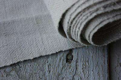Antique Grainsack fabric WASHED TWILL soft HEAVY linen upholstery material 4.5YD