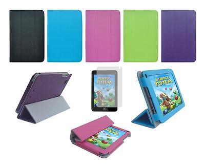 Folio Skin Cover Case and Screen Protector for HP Slate 7 Plus 4200 Tablet