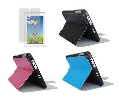 Slim Folio Skin Cover Case and Screen Protector for HP 7 Plus 1302 Tablet