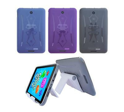 View Stand Holder + TPU Gel Skin Case Cover for Hisense Sero 8 E2281 Tablet