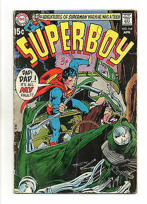 Superboy  Vol 1 No 164 Apr 1970 (GD+) DC Comics, Bronze Age (1970 - 1979)