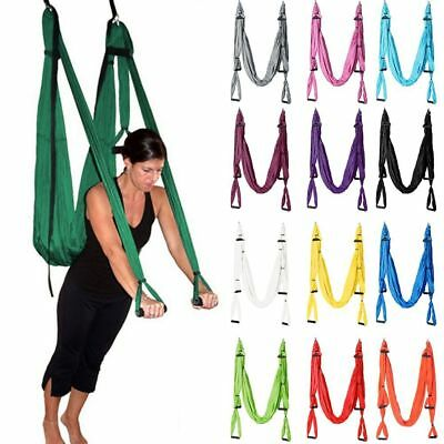 Elastic Inversion Therapy Aerial Yoga Hammock Swing Pilates Fitness HighStrength