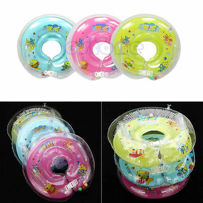 Baby Kid Infant Bath Swimming Pools Swim Aids Neck Float Ring Safety Inflatable