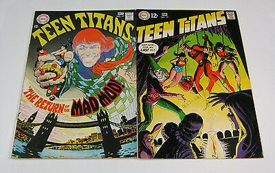 Teen Titans #17 & #19 Speedy Joins/Wally Wood SILVER AGE DC COMICS 1968 & 1969