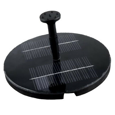 Solar Power Pool Water Pump Garden Watering Fountain Pond Feature NEW