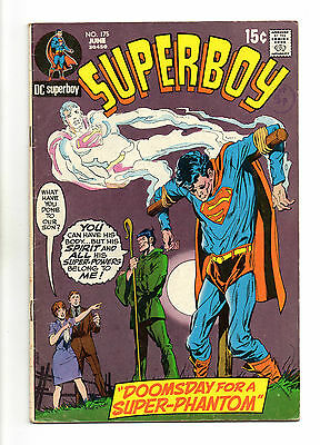 Superboy  Vol 1 No 175 Jun 1971 (FN-) DC Comics, Bronze Age (1970 - 1979)